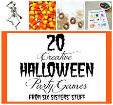 20 halloween party games six sisters u0027 stuff