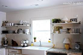 kitchen shelf decorating ideas open kitchen cabinet ideas simple white wooden cabinet sleek