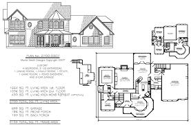 4 bedroom 2 story house plans ahscgs com