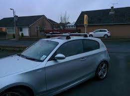 bmw 1 series roof bars roof rack help