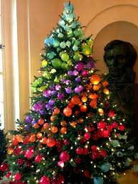 the most colorful and sweet christmas trees and decorations you
