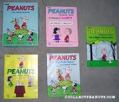 peanuts saalfield u0026 artcraft coloring books collectpeanuts