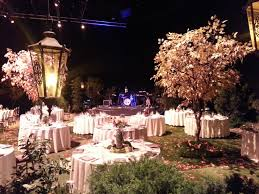 wedding reception decorations enchanted forest at jim henson