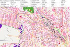 La City Map City Maps La Paz