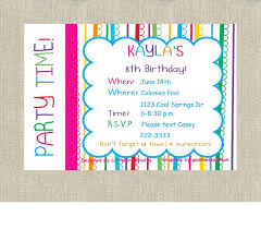 birthday invitation for teenager birthday invitation cards for teenage girls free here