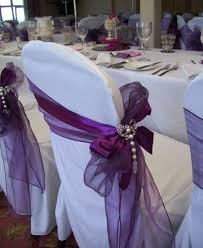 Purple Chair Sashes The 25 Best Wedding Chair Sashes Ideas On Pinterest Wedding