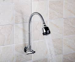 Wall Mount Faucets Kitchen by Online Get Cheap Wall Mounted Kitchen Faucet Spray Aliexpress Com