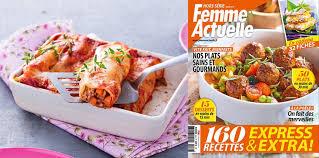 hors s駻ie cuisine actuelle le hors série spécial cuisine express est en kiosque femme actuelle