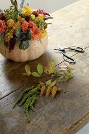 smashing floral pumpkin centerpiece southern living
