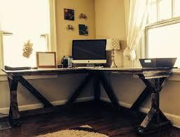 white corner office desks for home wood diy corner desk brunotaddei design diy corner desk