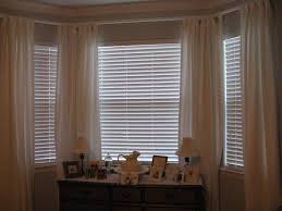 download window treatment ideas for bay windows in living room