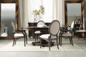 oval dining room table sets eastridge round oval pedestal dining room set by hooker furniture