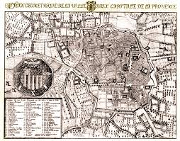 Provence Map For Honor And Intrigue Aix En Provence
