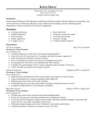 warehouse worker resume general warehouse worker resume resume exle forklift operator