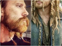 viking hairstyles for men wikinger frisuren männer herren bart flechten frisuren hairstyle