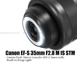 macro lens ring light canon ef s 35mm f2 8 m is stm lens coming with macro ring light