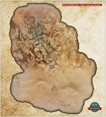 Thedas Map M8 The Forbidden Oasis Dragon Age Inquisition Game Guide