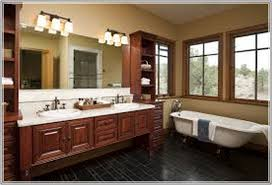 Rustic Farmhouse Bathroom - bathroom cabinet design fair ideas rustic farmhouse bathrooms