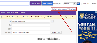 mail yahoo basic don t like the new look of yahoo mail switch it back