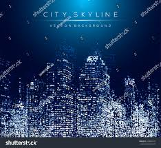 modern city life abstract background design stock vector 428846779