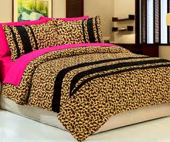 Leopard King Size Comforter Set Cheetah Bedroom Set Interior Design