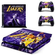 game design los angeles los angeles lakers ps4 skin decal by video games design decal on