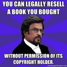 Meme Generator Copyright - rajinikanth goes legal