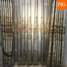 Luxury curtains living room decorative window curtain Romance