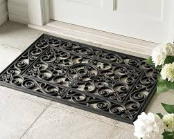 Exterior Door Mat Oversized Door Mats Outdoor Wood Doubel Warm Regarding 14