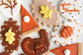 thanksgiving sugar cookies cakes bakes