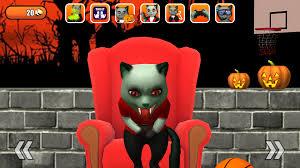 halloween kitten wallpaper talking cat leo halloween fun android apps on google play