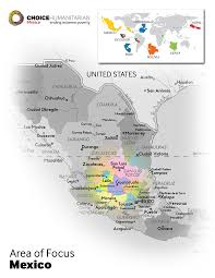 Zacatecas Mexico Map by Poverty Solutions In Mexico Choice Humanitarian