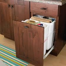 Best Ideas For DIY Kitchen Trolleybin Images On Pinterest - Kitchen cabinet garbage drawer