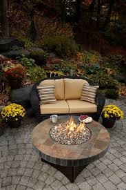 Gaslight Firepit by Santa Fe Mosaic Fire Table Gas Fire Pits By All Backyard Fun