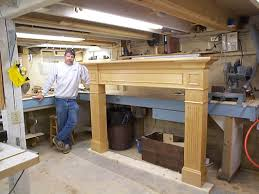 How To Build Fireplace Surround by Jill U0027s Fireplace Surround