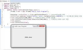 gui swing 안드로이드는 전자양의 꿈을 꾸는가 gui 프로그래밍 swing