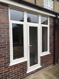 Wickes Patio Doors Upvc by Smart And Secure Fully Glazed Back Door With Large Flanking
