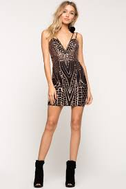 memdalet mini sequin party dress black cocktail dress 59