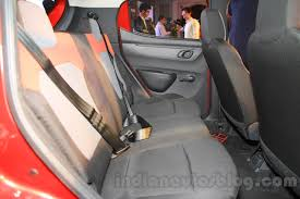 renault kwid interior seat renault kwid rear seats launched india indian autos blog