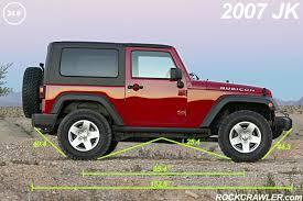 compare jeep wranglers 2007 vs 2006 rubicon comparison pictures
