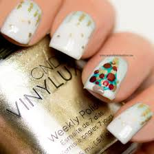nail art u2013 christmas tree my nail polish online