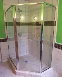 Neo Shower Door Framed Semi Frameless Shower Door King Shower Door Installations