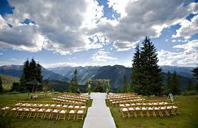 colorado weddings aspen wedding deck jpg