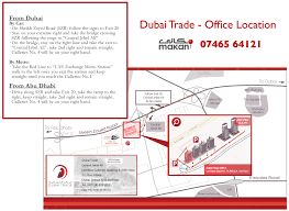 Metro Station In Dubai Map by Contact Dubai Trade
