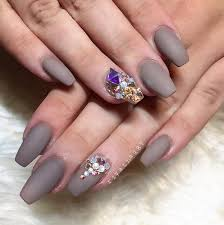 winter nail designs grey it get glamorous with these winter nail