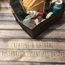 cats afterpains creating a natural postpartum essentials basket mama hippie