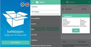 taxe bureau bureau of customs launch tax calculator app for ofws filamstar