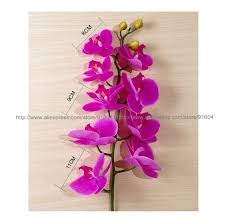 decorative flower online cheap wholesale phalaenopsis latex coating orchid flower