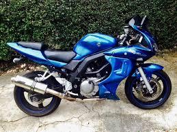 suzuki sv650 sv650s sports touro blue rare colour in golders