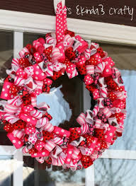valentines day wreaths 10 cool diy s day wreaths shelterness